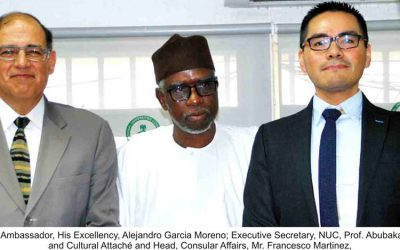 Executive Secretary Receives Mexican Envoy to Nigeria