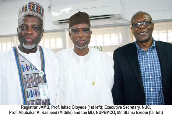 NUC to Reconcile NUPEMCO Accounts For Take-Off -Prof Rasheed