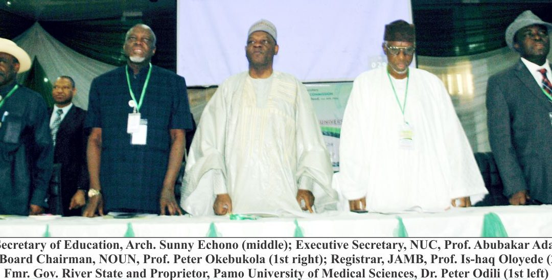 NUC Holds Maiden National Summit on Private Universities