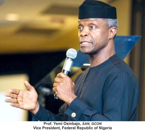 Use Research, Innovation To Solve Our Problems — Osinbajo to Academics