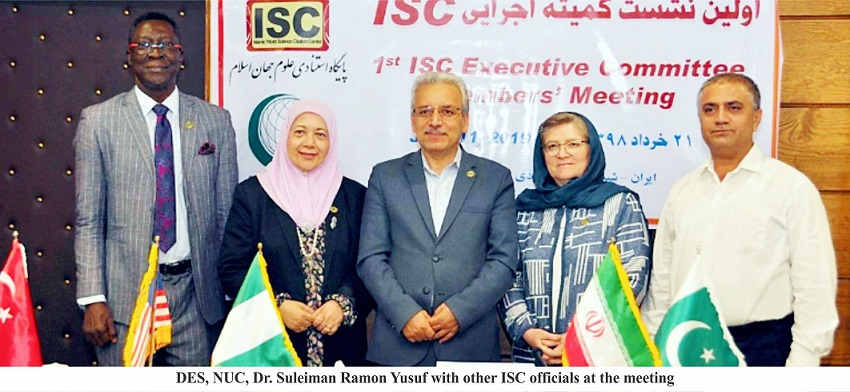 Nigeria Attends Islamic World Science Citation Forum at Iran