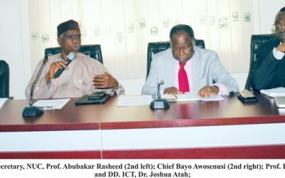 NUC Partners World Bank on Centres of Excellence in Procurement